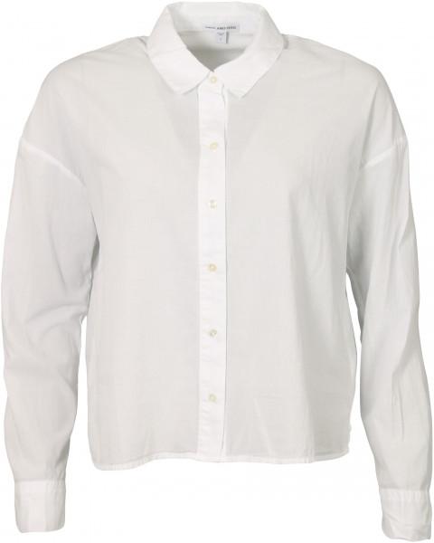 Women's James Perse Cotton Boxy Shirt White
