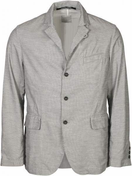 Men's Hannes Roether Jacket Baby Cord Grey/White