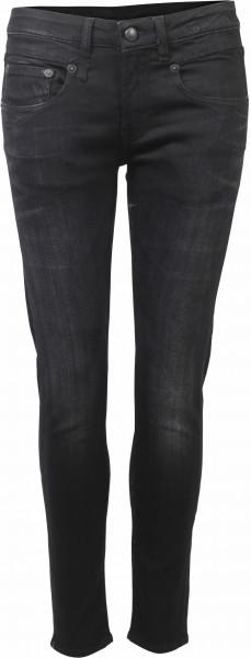R13 Boy Skinny Jeans schwarz