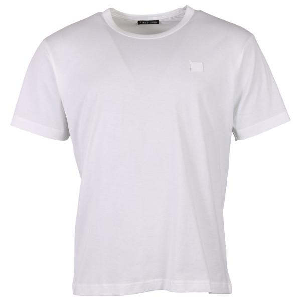 Men's Acne Studios T-Shirt Nash Face weiss