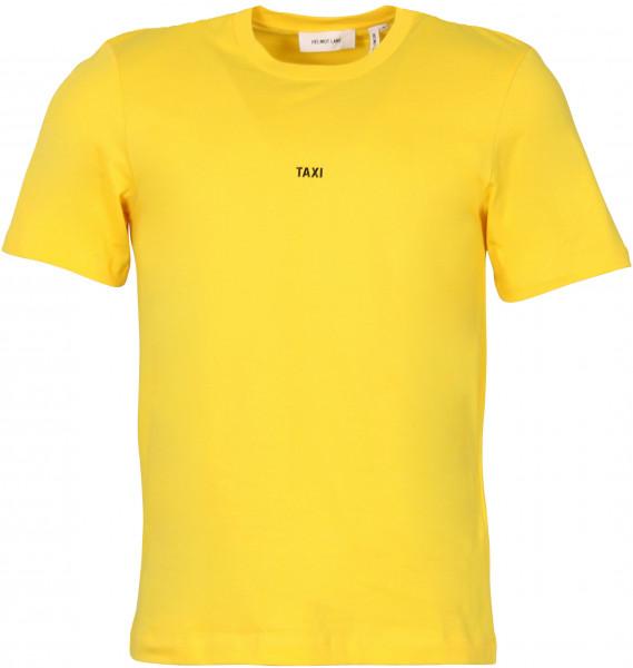 Men's Helmut Lang Taxi T-Shirt Yellow