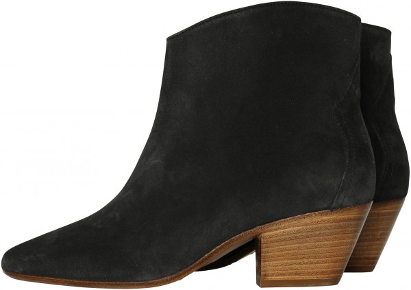 Women's Isabel Marant Dacken Boots Faded Black