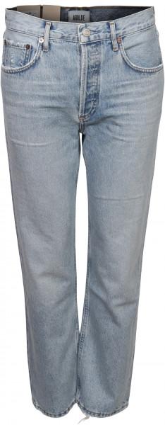 Women's Agolde Jeans Ripley Light Blue Washed