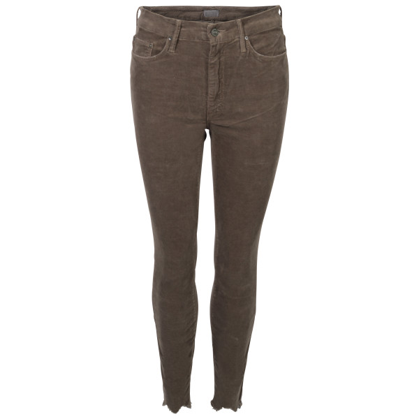 Women's Mother Cordhose taupe