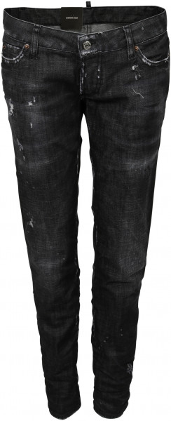 Women's Dsquared Jeans Jennifer Washed Black