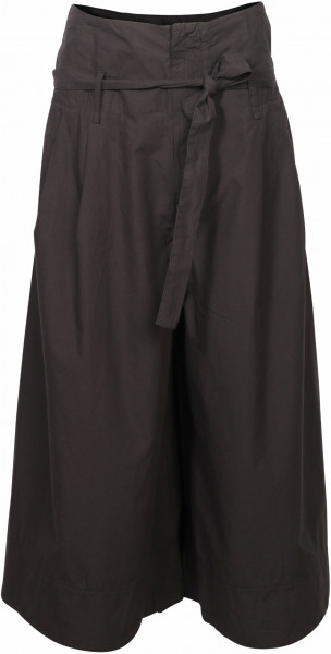Women's Transit Par Such Cotton Wide Pant Black