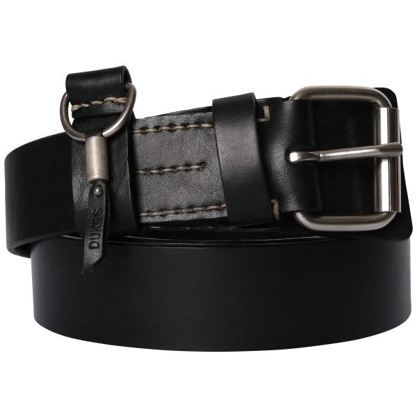 Men's Dukes Heritage Leather Belt Black