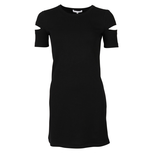 WOMEN'S HELMUT LANG KLEID CUTOUT BLACK