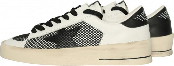Women's Golden Goose Sneaker Stardan Black/White