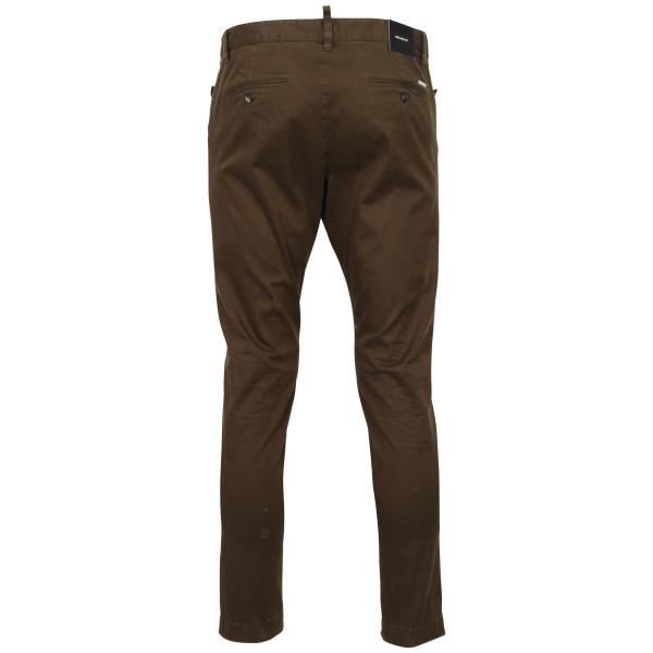 Men's Dsquared Chino olive