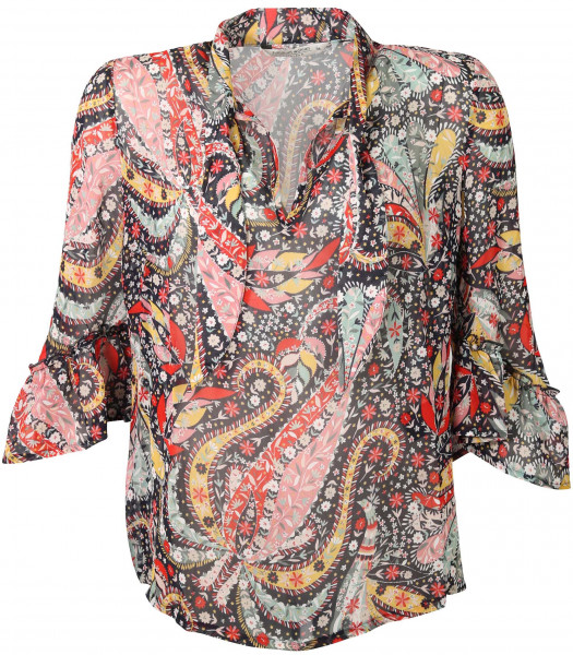 Women's Summum Top Flower Paisley