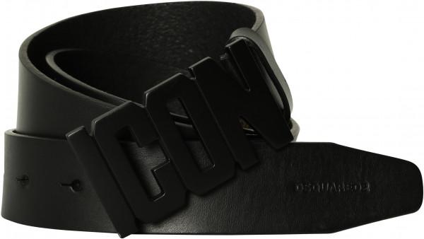 Men's Dsquared Icon Belt Black