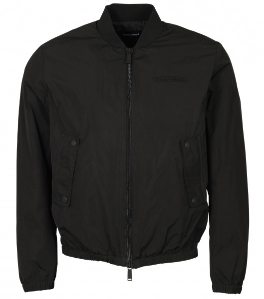 Men's Dsquared Bomber Jacket Black
