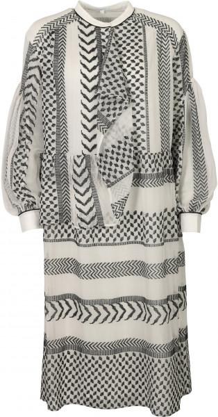 Women's Lala Berlin Dress Dilani X-Stitch Kufiya Embroidered