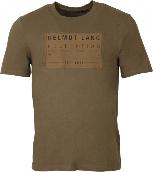 Men's Helmut Lang Patch T-Shirt Olive