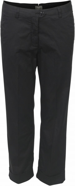 Women's Woolrich Cotton Stretch Satin Pant Navy
