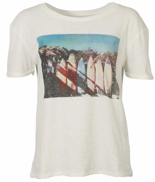 Women's June7.2 T-Shirt Arizona Offwhite Printed