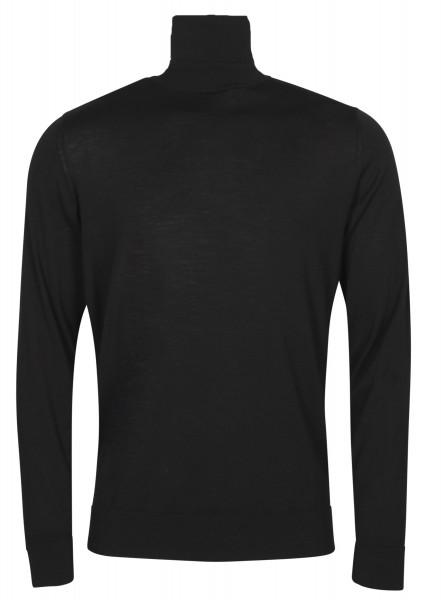 Men's Transit Uomo Turtle Knit Sweater Black
