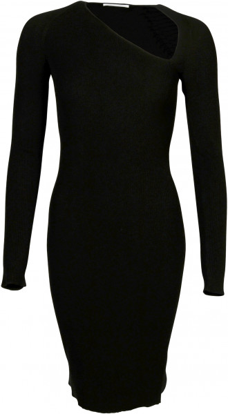 Women's Helmut Lang Raglan Stretch Dress Black
