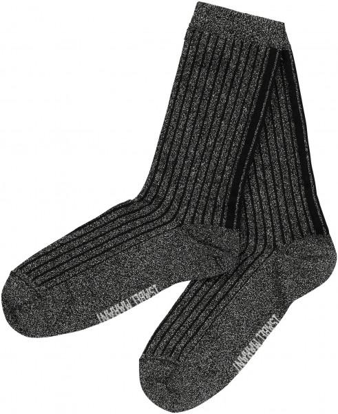Women's Isabel Marant Lurex Socks Lily Silver