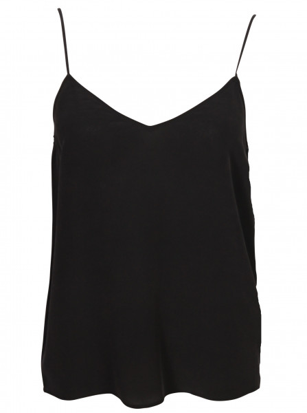 Women's Equipment Silk Top Black