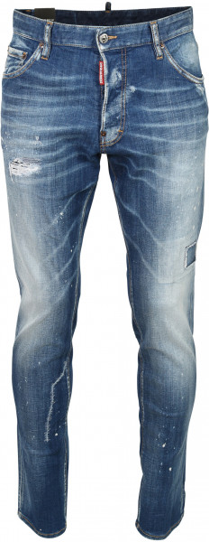 Men's Dsquared Jeans Cool Guy Blue Washed