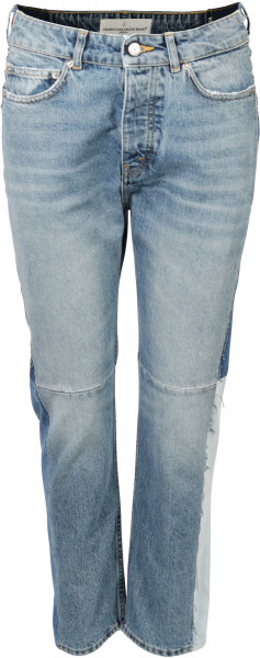 Golden Goose Patchwork Jeans Happy