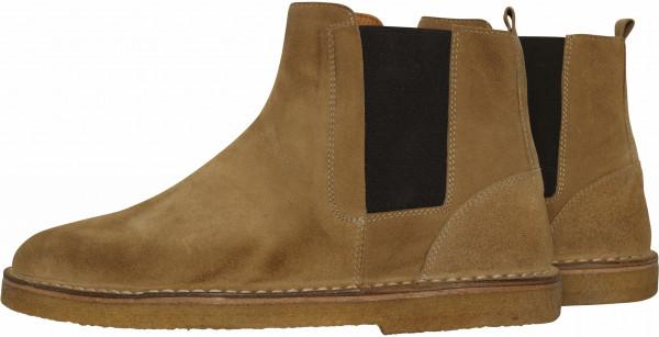Men's Golden Goose Boots Portman Beige Suede