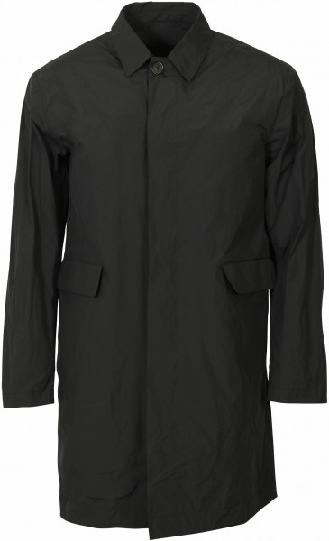 Men's Dsquared Nylon Jacket Long Black