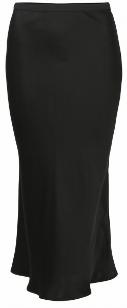 Women's Anine Bing Silk Skirt Bar Black
