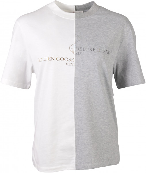 Women's Golden Goose T-Shirt bicolour