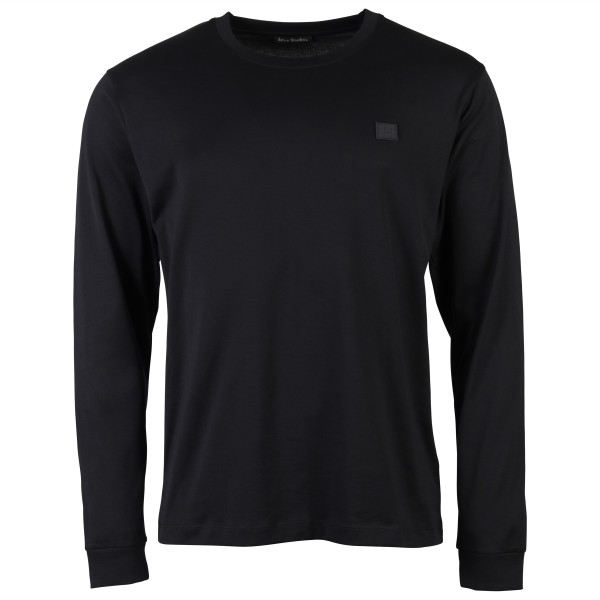 MEN'S ACNE STUDIOS LONGSLEEVE ELWOOD FACE BLACK