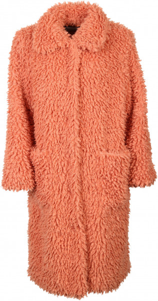Women's Stand Studio Fake Fur Coat Taylor Coral
