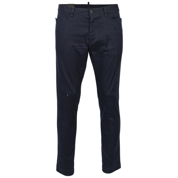 Men's Dsquared Chino blau