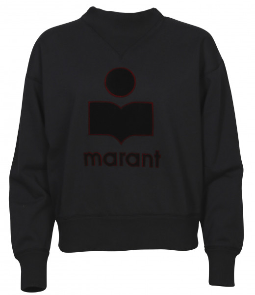 Women's Isabel Marant Étoile Sweatshirt Moby Faded Black