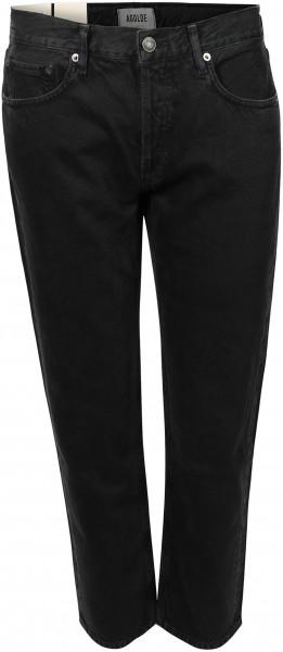 Women's Agolde Jeans Parker Caliber Black