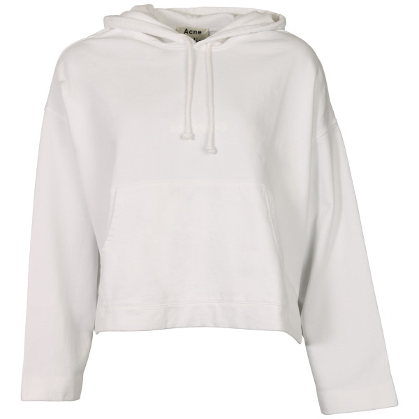 Women's Acne Studios Joghy Hoodie White