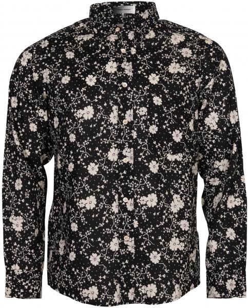 Men's Isabel Marant Shirt Ilako Black/White Printed