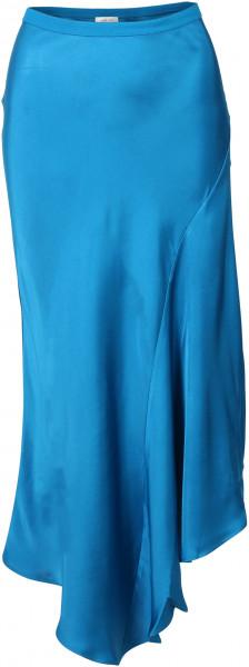 Women's Anine Bing Silk Skirt Bailey Vibrant Blue