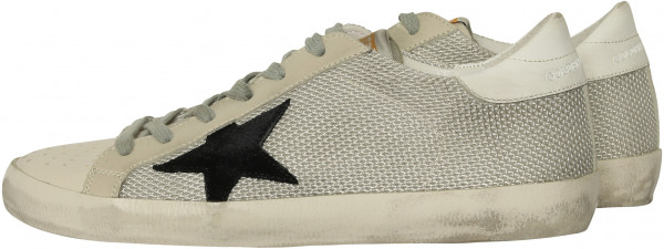 Women's Golden Goose Superstar Grey Cord Gum
