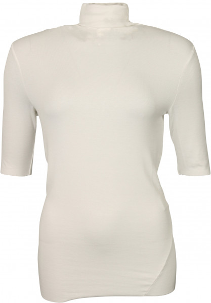 Women's Thom Krom Turtleneck 3/4 Shirt Off White
