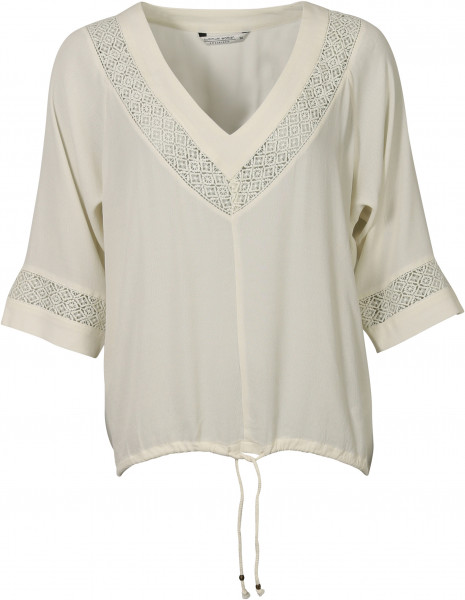 Women's Summum Top Mosscrepe pearl