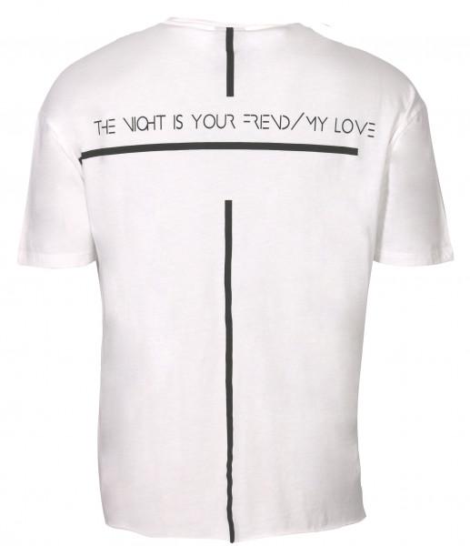 Men's Thom Krom T-Shirt White Printed