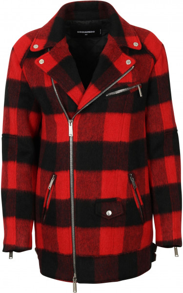 Women's Dsquared Wool Jacket Checked