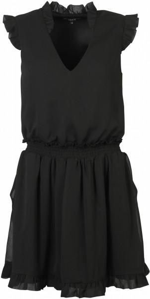 Nikkie Kleid Riva Rüschen schwarz