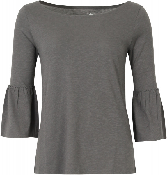 Juvia Lounge Wear 3/4 Sleeve Shirt anthrazit