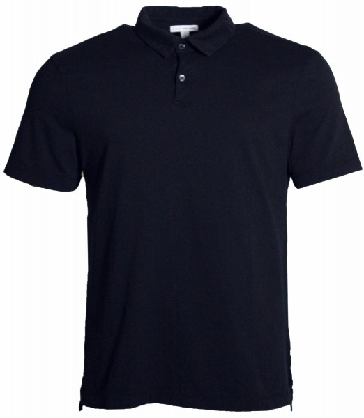James Perse Polo Shirt MSX3337 navy