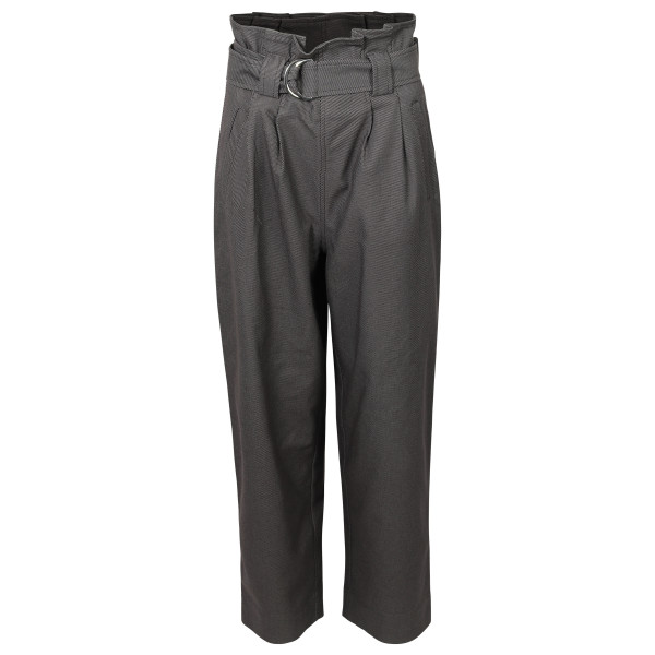 Women's Ganni Belt Pants Grey
