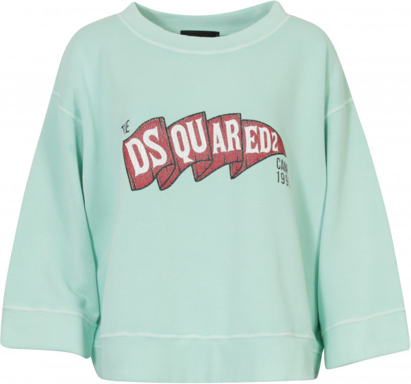 Women's Dsquared Sweatshirt türkis