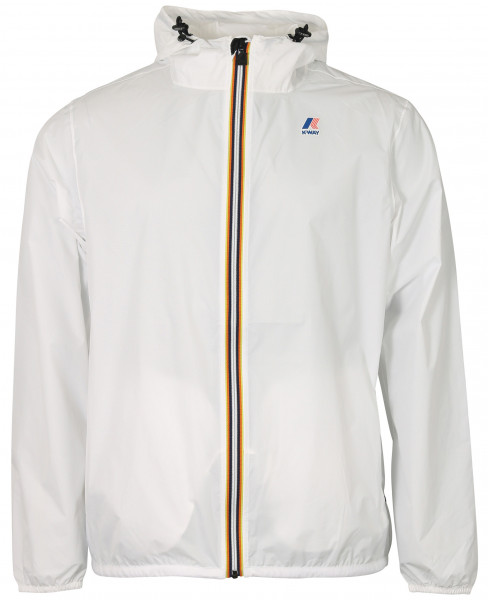 K-Way 3.0 Claude Rainjacket White